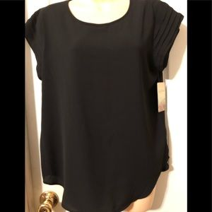 New With Tags Black Blouse